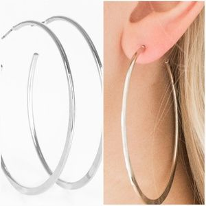 HOOP HERO HOOP SILVER EARRINGS